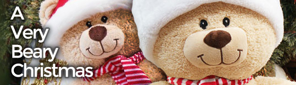 personalized teddy bear christmas gift