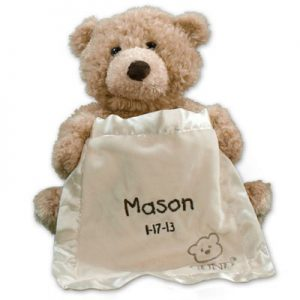 personalized baby gift teddy bear