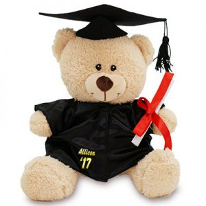 personalized graduation gift teddy bear