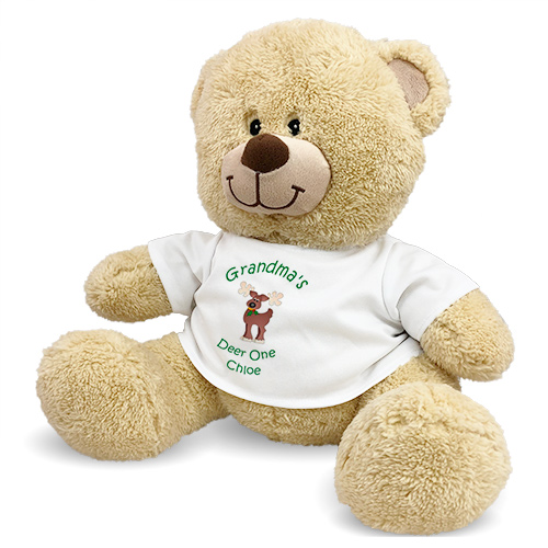 Christmas Sherman Teddy Bear 83000B13-4630
