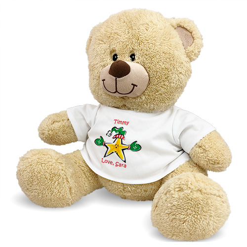 Christmas Star Teddy Bear 83000B13-4970