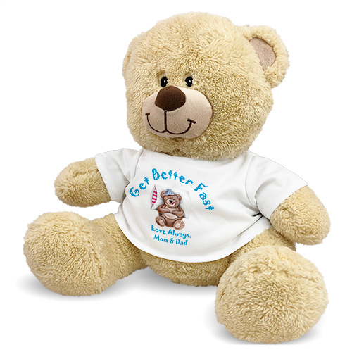 Personalized Get Better Fast Teddy Bear 83xxxb13-4983