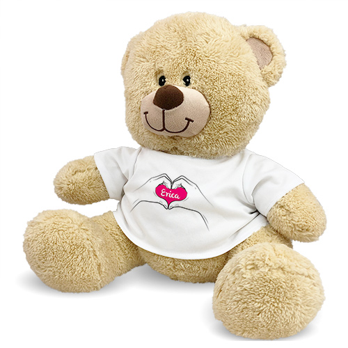 I Heart You Teddy Bear 83000B13-8122