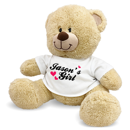 Personalized My Girl Teddy Bear 83000B17-2612
