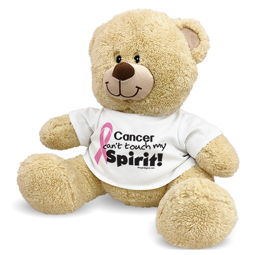 Pink Hope Ribbon Spirit Teddy Bear 83000B17-5588