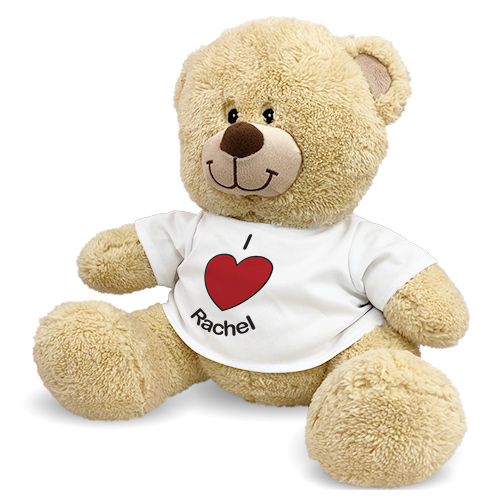 Personalized i Heart You Teddy Bear 83000B21-4981