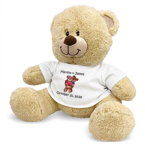Personalized Couples Teddy Bear 83000b13-4679