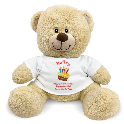 Personalized Birthday Cake Teddy Bear 834982X