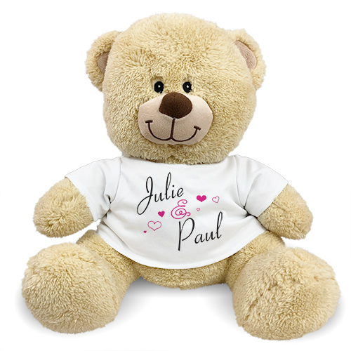 Personalized Couples Teddy Bear 835249X