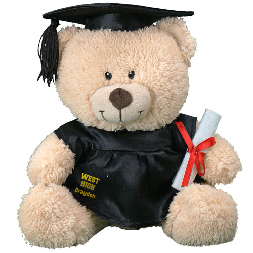 Personalized Any Message Graduation Teddy Bear 8B8310225