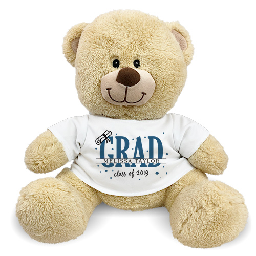 Personalized Diploma Bear | Personalized Graduation Bear