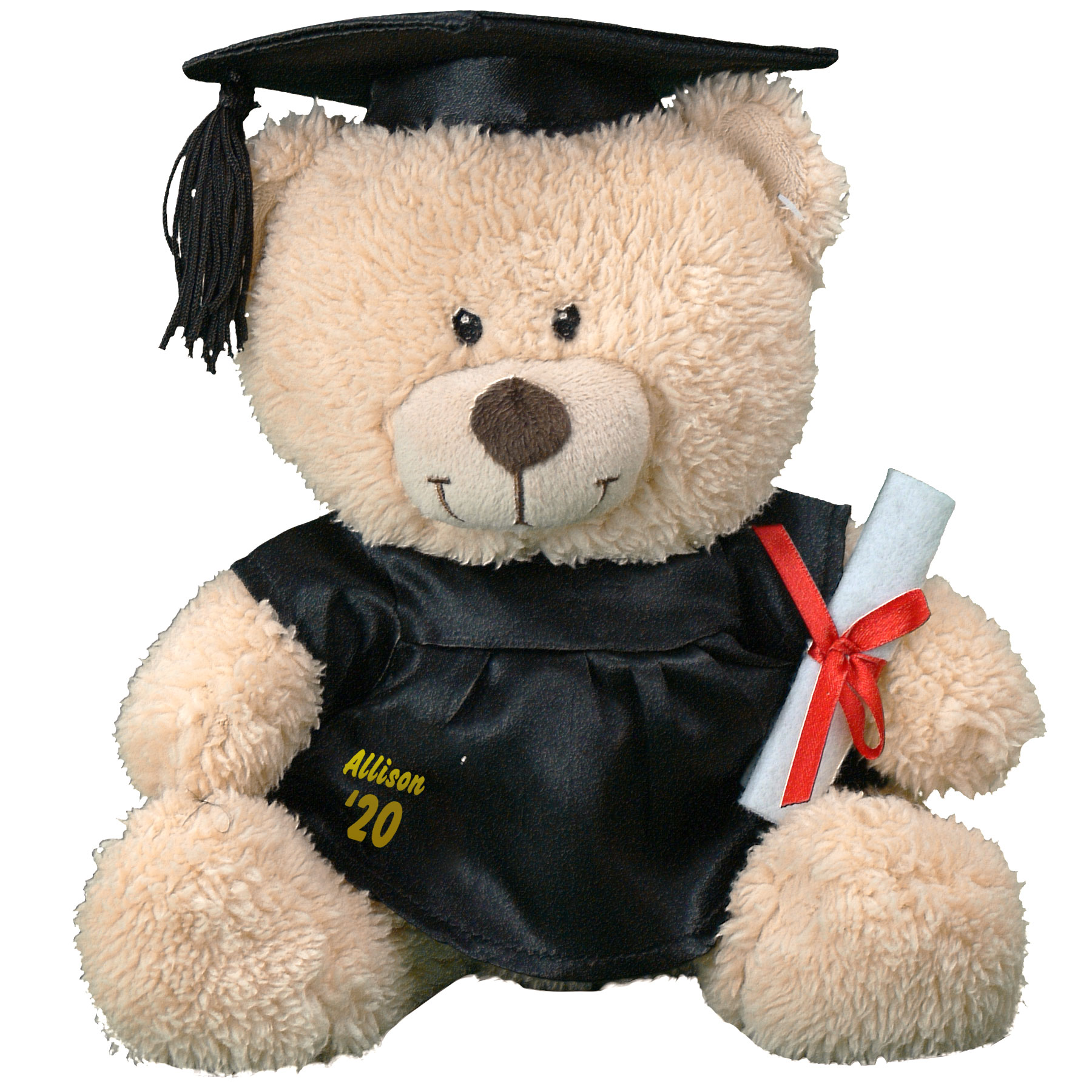 Graduation Cap and Gown Teddy Bear 8B831703