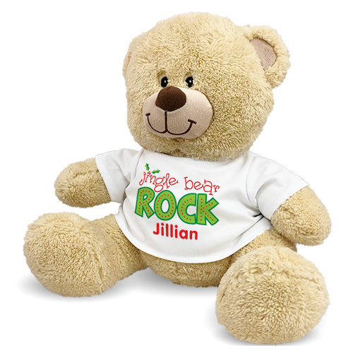 Jingle Bear Rock Teddy Bear 8B838088X