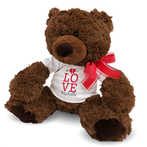 Plush Valentine's Day Bear | Personalized Valentine's Bear