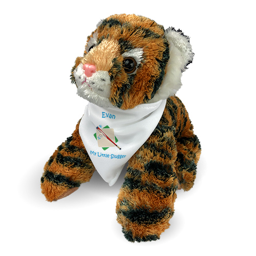 Personalized Baseball Tiger