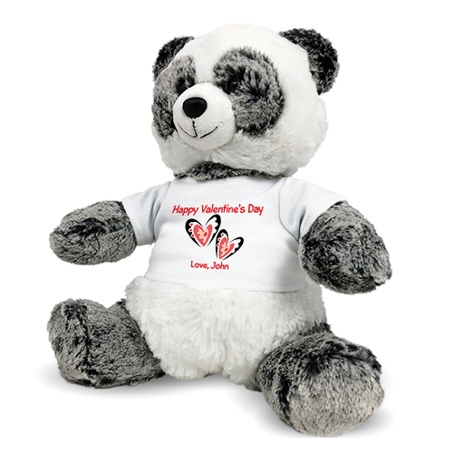 Happy Valentine's Day Panda AU3393-6273