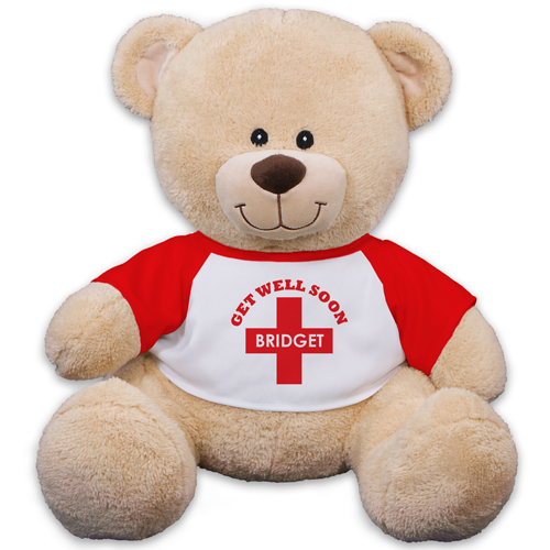 Get Well Soon Sherman Bear 83000B13-8124