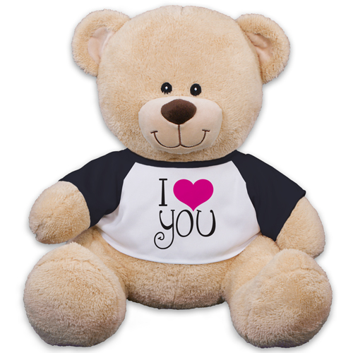 I Love You Sherman Bear 83000B17-8125
