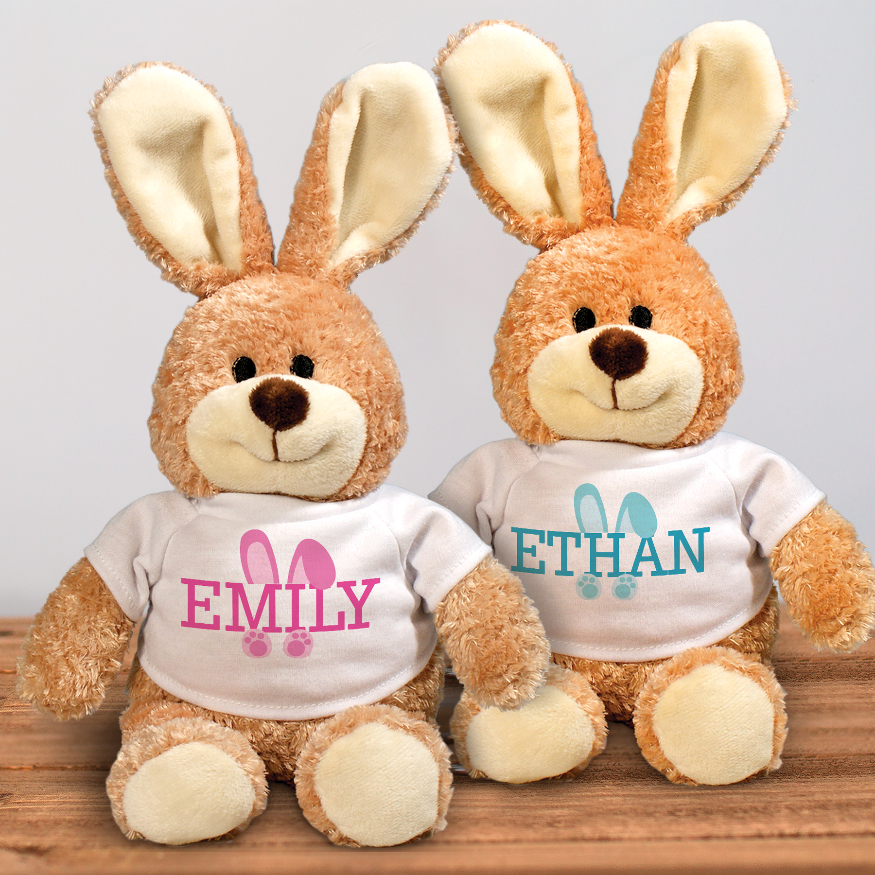 Bunny Ears Personalized Stuffy Easter Bunny I86142598X