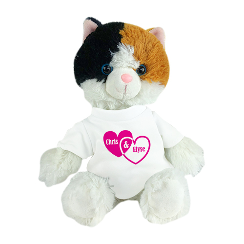 Personalized Stuffed Cat Toy | Personalized Esmeralda Cat