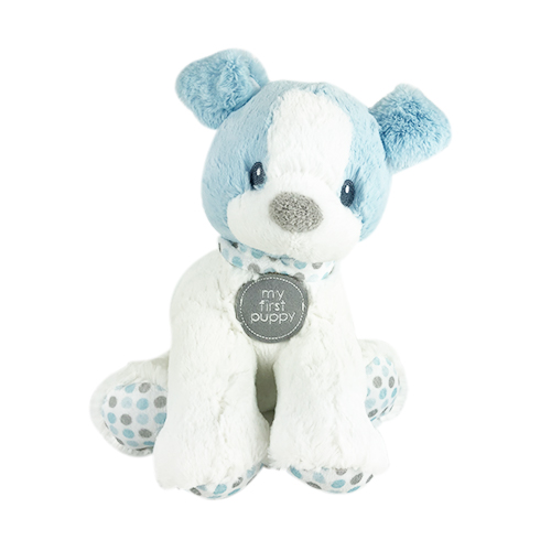 Stuffed Baby Blue Puppy Dog | Light Blue Puppy Dog For Baby