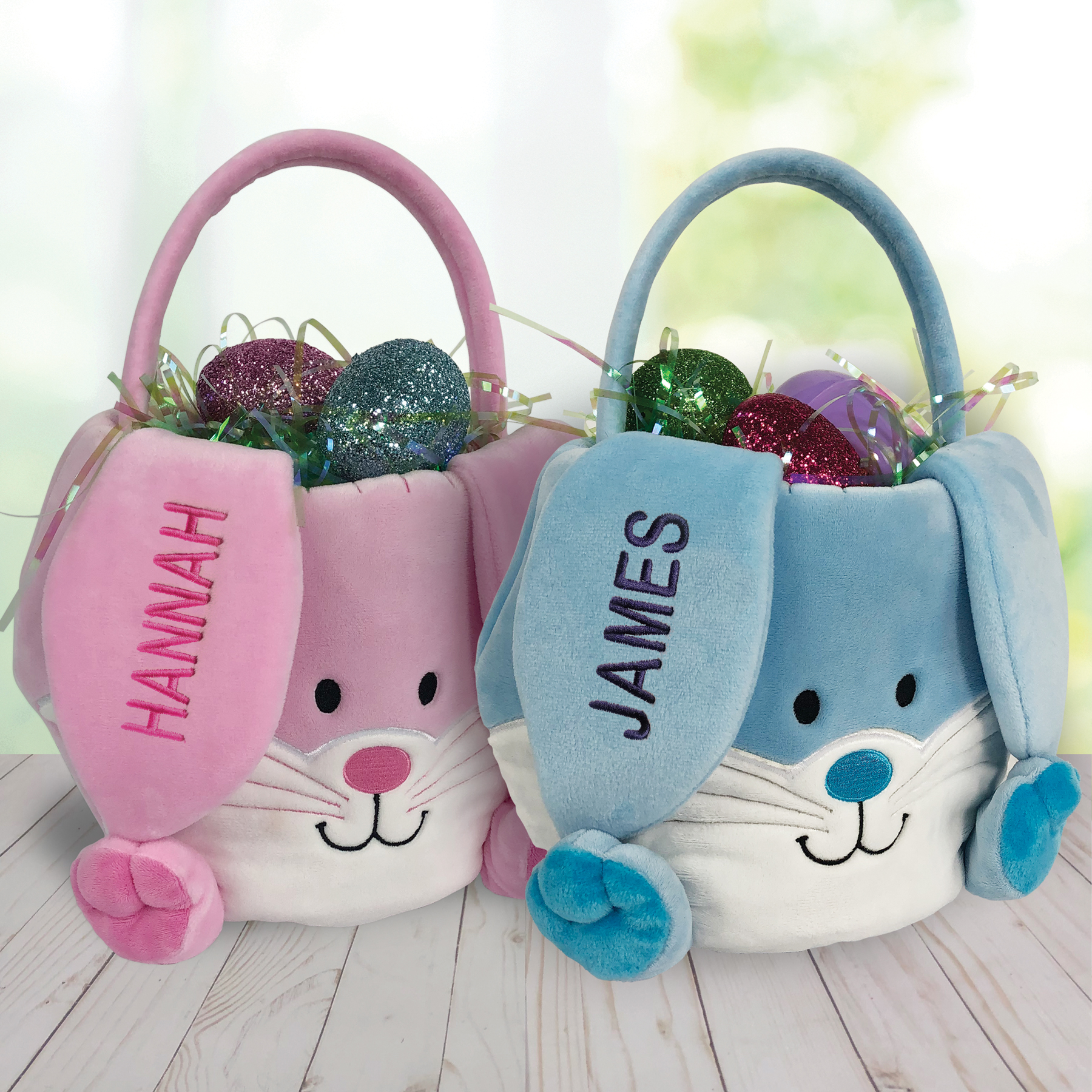 Easter Bunny Basket | Plush Easter Basket