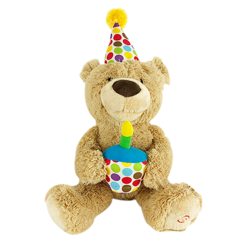 Birthday Stuffed Animal for Kids | First Birthday Teddy Bear