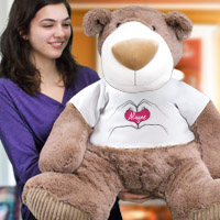 Big Personalized Teddy Bears