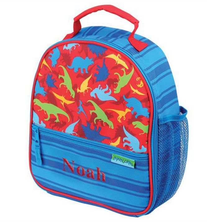 Embroidered Dinosaur Gifts | Personalized Boys Lunch Box