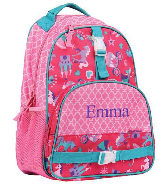 Embroidered Back To School Gift | Princess Backpacks