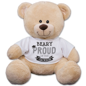 Beary Proud Graduation Teddy Bear