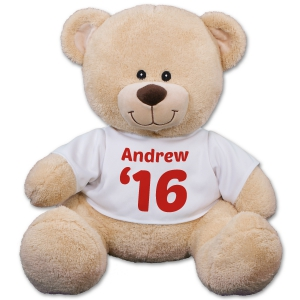 Personalized Graduation Year Teddy Bear
