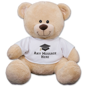 Any Message Graduation Teddy Bear