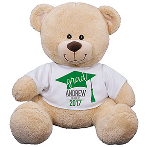 Personalized Graduation Cap Sherman Bear | Personalized Graduation Bear