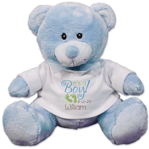 It's A Boy Blue Teddy Bear 890006-8118