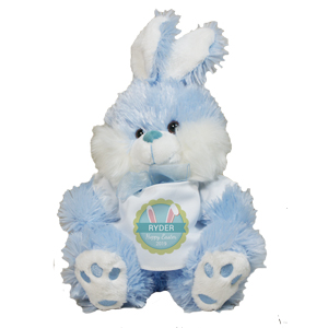 Personalized Bunny Ears Blue Easter Bunny 8B83100039BL