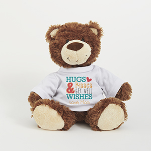 Personalized Hugs & Kisses Smiles Bear AU9873-10862