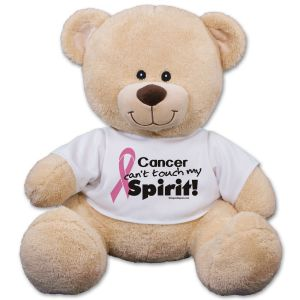 Pink Hope Ribbon Spirit Teddy Bear