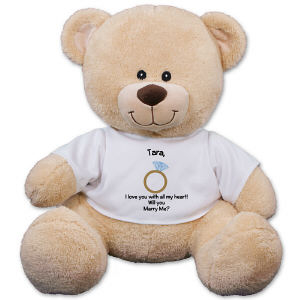 Will You Marry Me Teddy Bear - 17