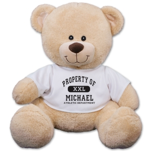 Personalized Property Of Teddy Bear