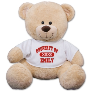 Personalized Property Of XOXO Teddy Bear 832116X