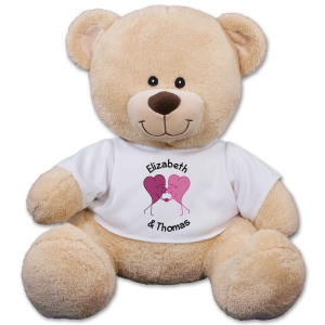 Personalized Romantic Teddy Bear