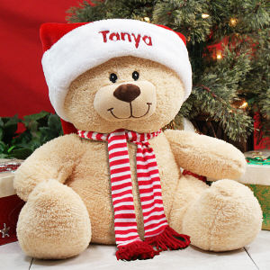Holiday Sherman Teddy Bear - 17