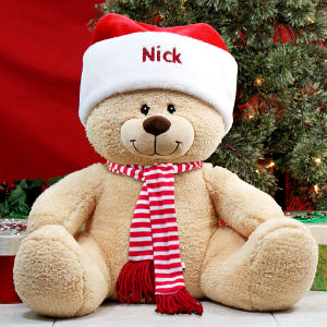 Holiday Sherman Teddy Bear 8B836983B21
