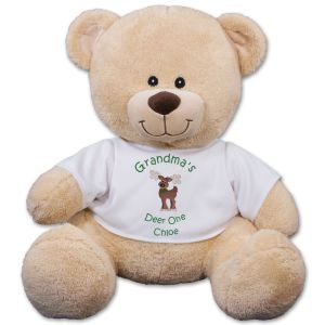 Christmas Sherman Teddy Bear - 11