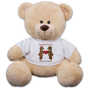 Personalized Couples Teddy Bear 83000B17-4731