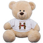 Personalized Couples Teddy Bear - 17