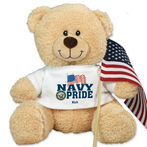 Military Pride Sherman Teddy Bear