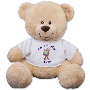 Personalized Birthday Present Teddy Bear - 11