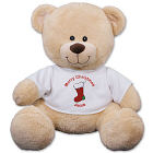 Personalized Christmas Stocking Teddy Bear - 11